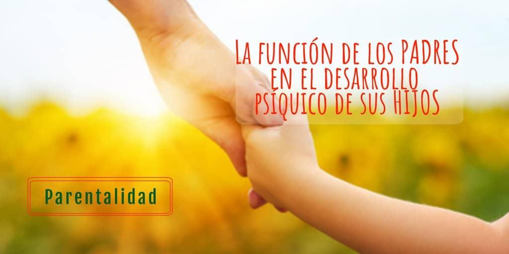 La función de los padres - Psicólogo de niños en Tenerife. Psicología