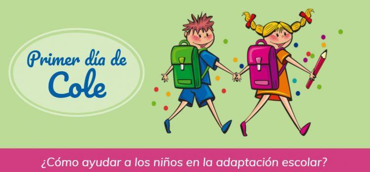 El primer día de cole – ¿Cómo ayudar a los niños en la adaptación escolar?
