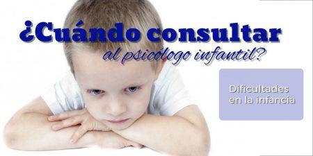 ¿Cuándo consultar en un gabinete Psicológico infantil en Tenerife? Psicólogos Tenerife sur.Psicología de niños