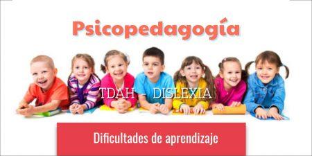 Psicopedagogía en Tenerife. TDAH Dislexia