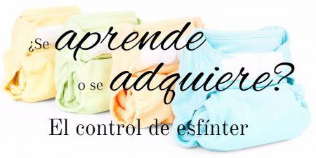 ¿Se aprende o se adquiere el control de esfínter? Psicólogo infantil en Tenerife