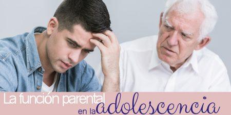 La función parental en la adolescencia